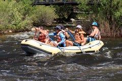 Yampa Rzeczny Fest, Steamboat wiosny, Kolorado Obrazy Royalty Free