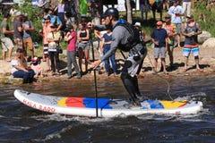 Yampa Rzeczny Fest, Steamboat wiosny, Kolorado Fotografia Stock
