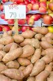 Yams Stock Photo