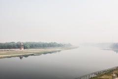 Yamuna River View Stock Photography