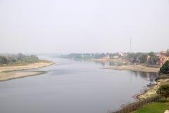 Yamuna rzeka w Agra Obraz Stock