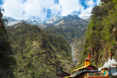 Yamunotri Temple Royalty Free Stock Images
