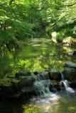 Yan Shu Jiuxi, paesaggio del parco naturale, Hangzhou fotografie stock