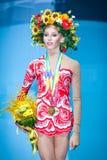 Yana Kudryavtseva de Rússia Imagem de Stock