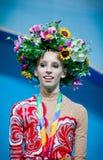 Yana Kudryavtseva de Rússia Imagens de Stock