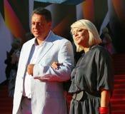 Yana Poplavskaya at Moscow Film Festival Royalty Free Stock Photo