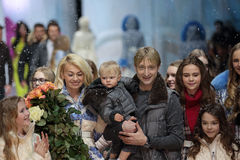 Yana Rudkovskaya and Evgeny Plushenko Royalty Free Stock Photos
