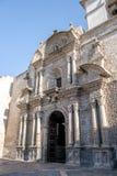 Yanahuara Church or San Juan Bautista de Yanahuara Church - Arequipa, Peru Stock Photo