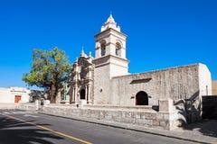 Yanahuara kyrka arkivfoton