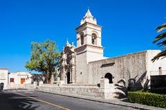 Yanahuara kyrka arkivbilder