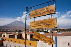 Yanahuara Viewpoint Stock Images