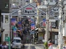 Yanaka Ginza, Tokyo Stockfotos