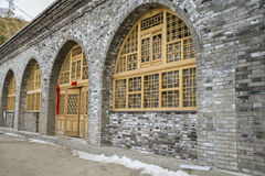 Yanan-Höhlenwohnung, Porzellan Lizenzfreie Stockfotos