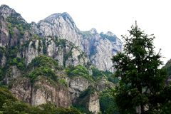 Yandang Mountain,Wenzhou,Jhejiang,China Royalty Free Stock Photo