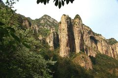 Yandang Mountain,Wenzhou,Jhejiang,China Stock Image