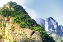 Yandangshan China landscape Royalty Free Stock Image