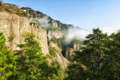 Yandangshan China landscape Stock Image