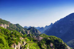 Yandangshan Landscape China Royalty Free Stock Photos