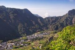 Yandangshan-Landschaft China Stockbild