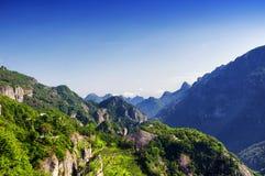 Yandangshan-Landschaft China Lizenzfreie Stockfotos