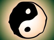 Yang de Yin Photos libres de droits
