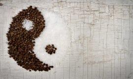 yang för gammal peppar för dörr salt yin royaltyfria foton