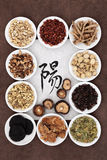 Yang Herb Selection Stock Images