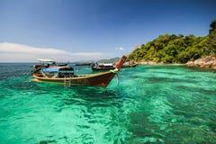 Yang island, Koh Yang, Satun province Thailand Royalty Free Stock Photos