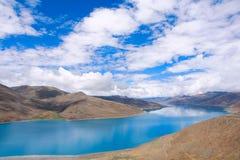Yang Lake royaltyfria bilder