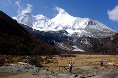 Yang Mai Yong Moutain Peak Royaltyfri Fotografi