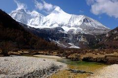 Yang Mai Yong Moutain Peak Arkivbild
