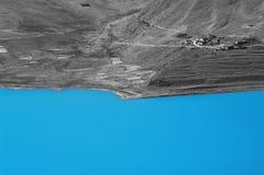 Yang-meer in Tibet Royalty-vrije Stock Fotografie