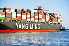 Yang Ming Marine Transport Vessel Imagen de archivo libre de regalías