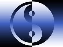 yang yin ilustracji