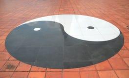 yang yin arkivfoton