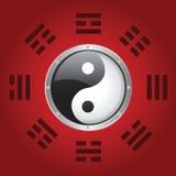 yang yin royalty ilustracja