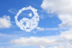 Yang and yin symbol Royalty Free Stock Photography