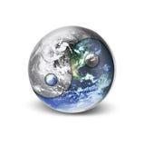 Yang yin world stock illustration