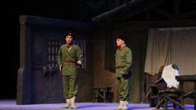 "Yang Zirong-Peking Opera ""Taking el  del € de Tiger Montain By Strategyâ"