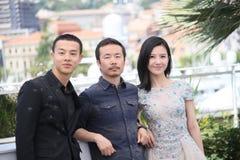 Yang Zishan Li Ruijun, Yin Fang Arkivbilder