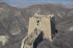 Yangbian Grear墙壁 免版税库存照片