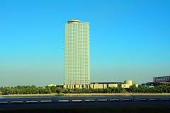 Yanggakdo Hotel, Pyonyang, North-Korea Royalty Free Stock Images
