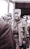 Yangiyer Comandanten Rene Vallejo 1963 Royaltyfria Foton