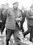Yangiyer Fidel arrived 1963 Stock Photography