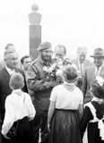 Yangiyer Fidel and Pioneers 1963 Royalty Free Stock Photo