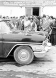 Yangiyer government Chaika 1963 Stock Photography