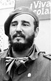 Yangiyer portrait of Fidel 1963 Royalty Free Stock Photos