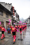 Yangko Dance Royalty Free Stock Photo