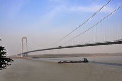 Yangluo Bridge stock photo