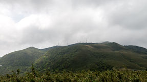 Yangmingshan Nation Park at Qing Tian Gang, Taipei Apr 2016 Stock Image